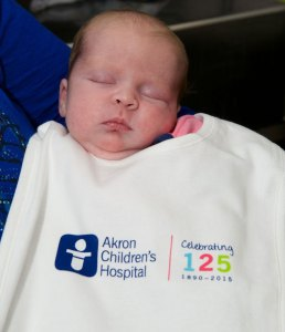 """Miracle"" baby is another reason to celebrate Akron Children's 125th anniversary"