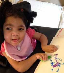 Program helps children with special needs express themselves through art