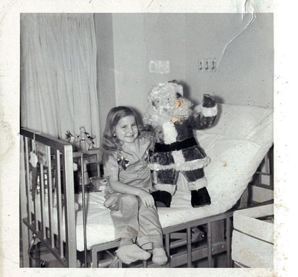 Evelyn was a patient 50 years ago between October 1960 through March 1961.