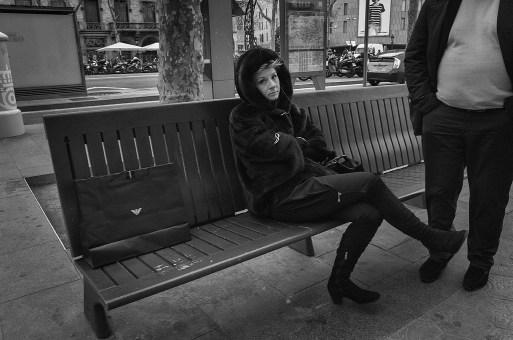 Barcelona Street Photography Ricoh GXR
