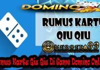 Rumus Kartu Qiu Qiu Di Game Domino Online
