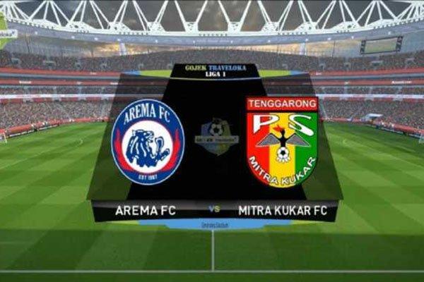 Laporan Pertandingan Sepakbola Liga1 Arema FC VS Mitra Kukar