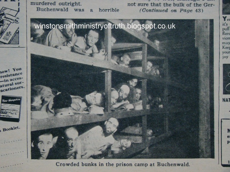 Buchenwald Missing Man Forgery - Original
