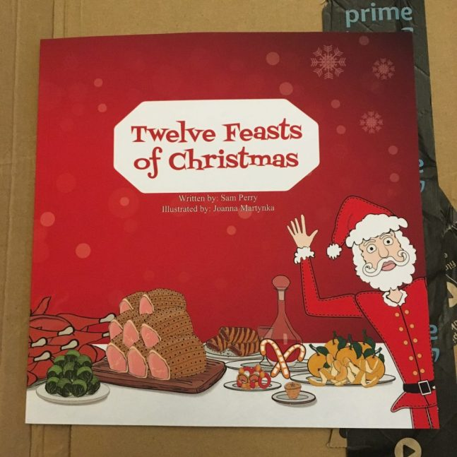 Get your copy of Twelve Feasts of Christmas from Amazon in time for Christmas