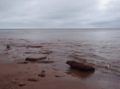 Red sand, red water PEI