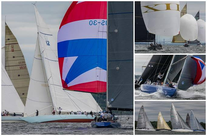The 2018 12 Metre North American Championship will be hotly contested. (Photo credit: Stephen Cloutier)