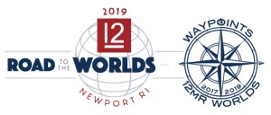 Road to the 2019 Worlds- Waypoints logo