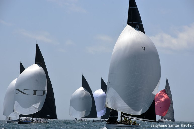 2019 12 Metre World Championship, photo by SallyAnne Santos