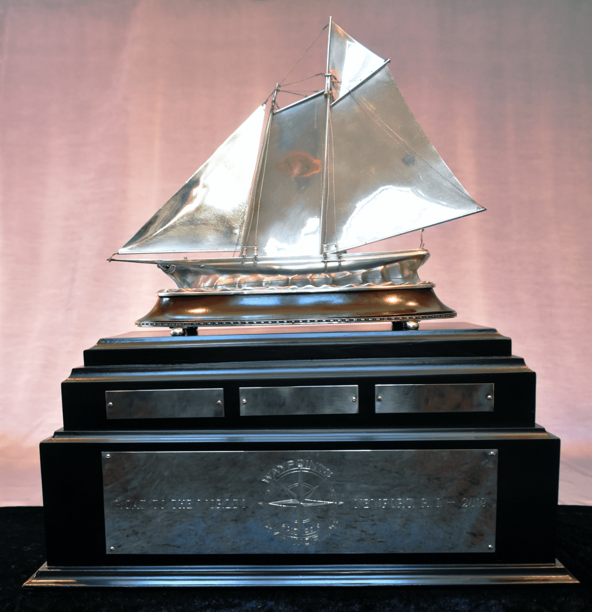 Waypoints to the Worlds Trophy, 12 Metre World Championship Trophy