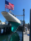 After several years in the shed, Gleam (US-11) was re-launched by new owner Andy Tyska in October 2020.