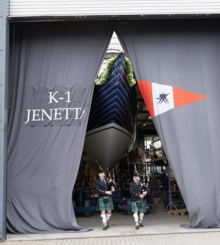 Jenetta, K-1, photo courtesy Robbe & Berking