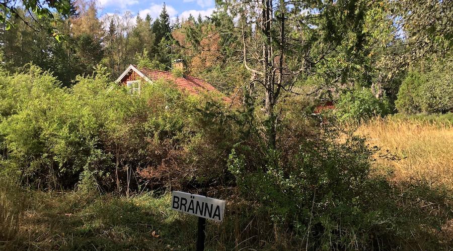 """Hütte """"Bränna"""