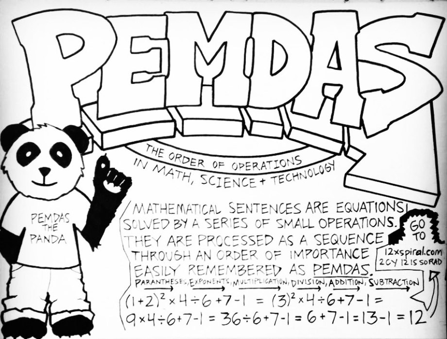 Pemdas and Order
