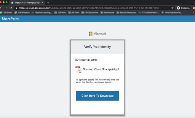 Phishing Campaign Uses Fake SharePoint Alerts