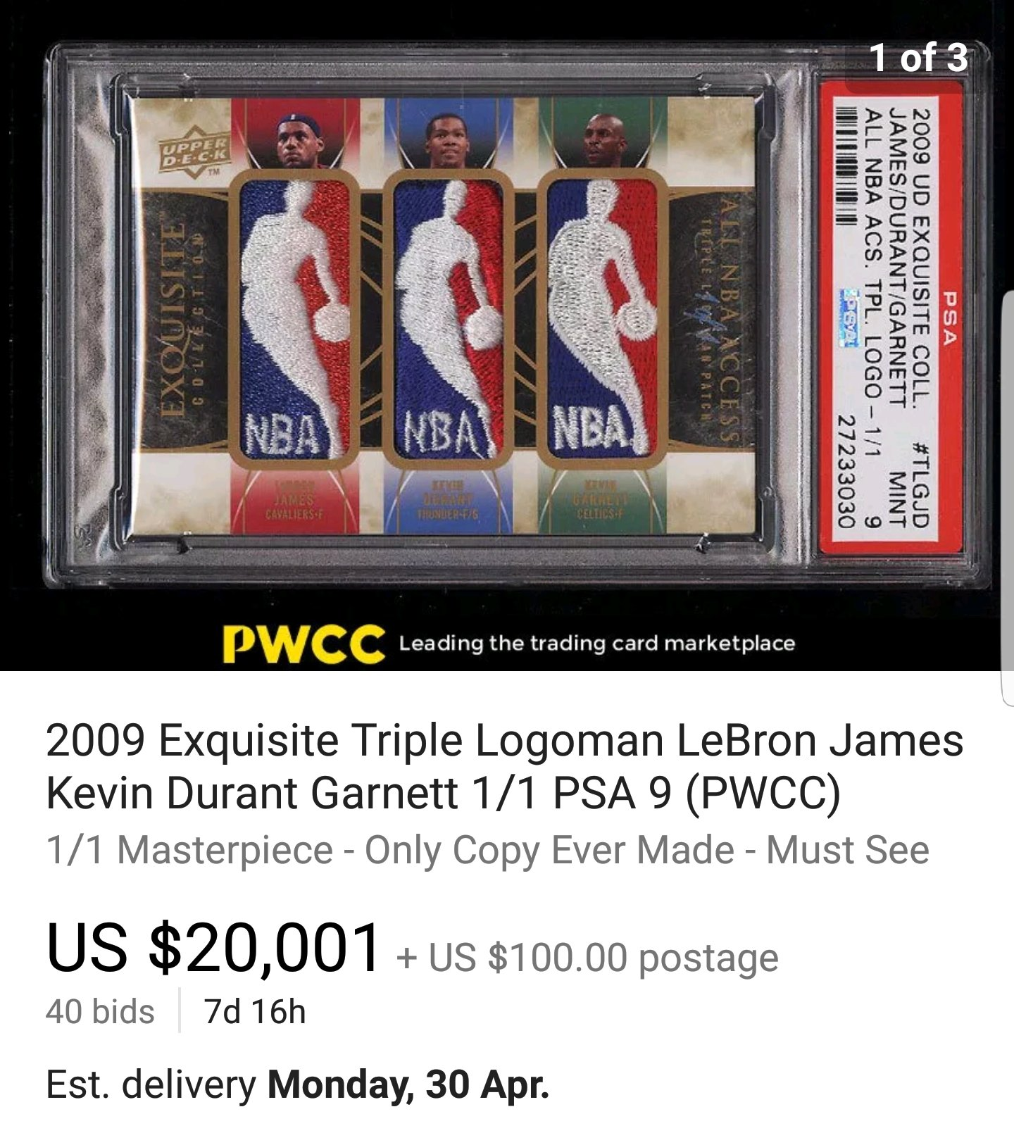 low priced e721c 25698 Jaw Dropping LeBron James Cards on eBay | 130 Point