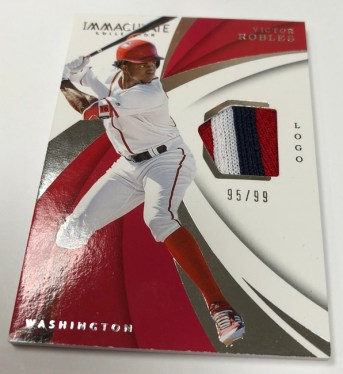 2018 Immaculate Collection Baseball