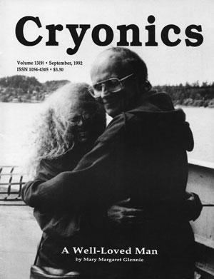 Cryonics September 1992