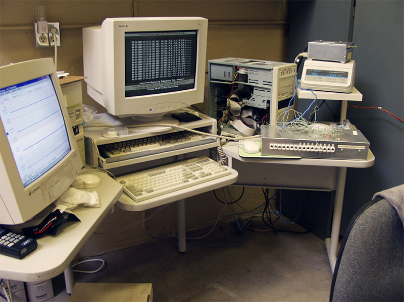 computers used to contorl cooldown