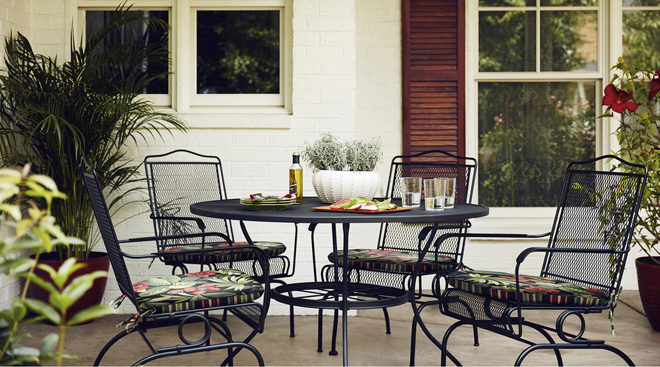 up to 60 off patio furniture at lowe s