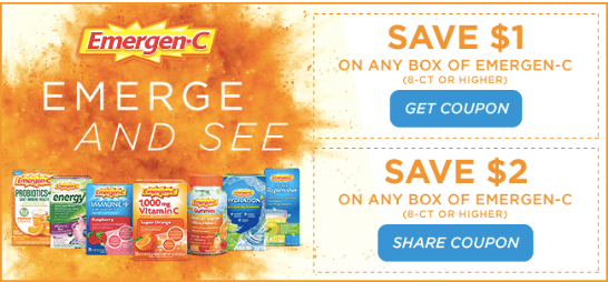Hot Over 50 Off Emergen C Drink Mixes At Target Starting