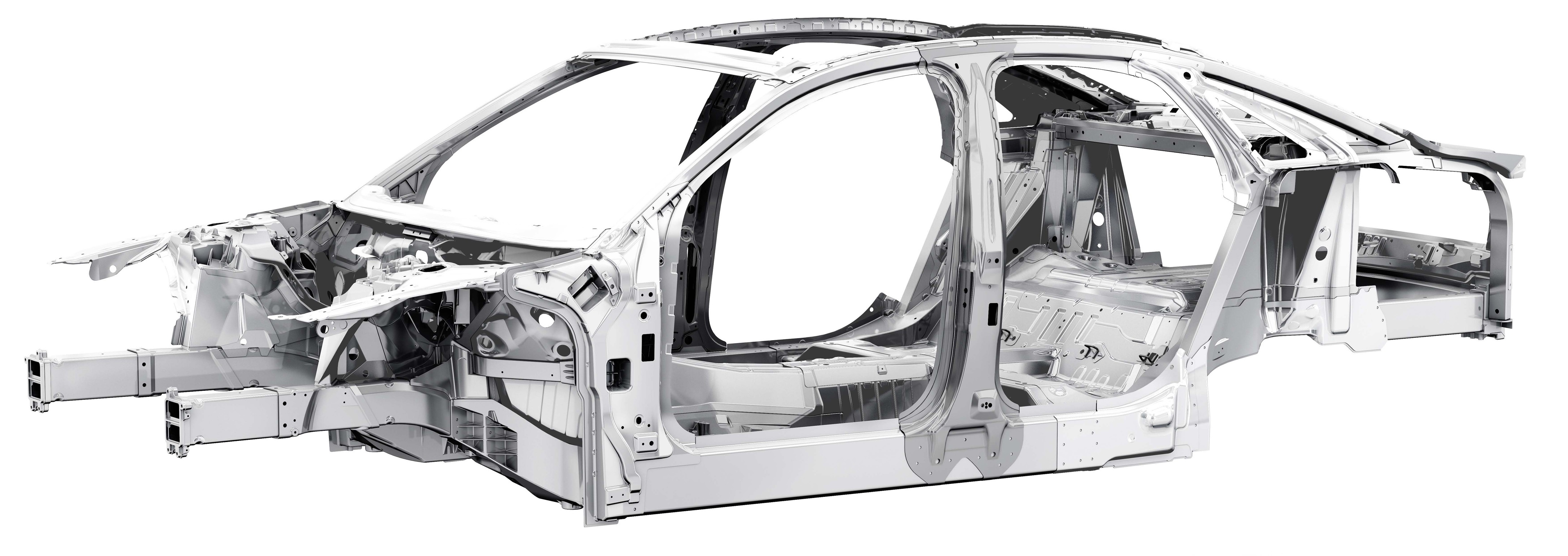 Audi A8 Body Structure Boron Extrication