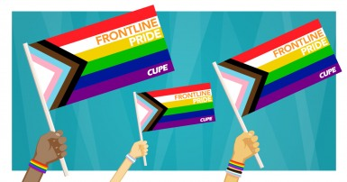 CUPE celebrates Frontline Pride Canadian Union of Public Employees