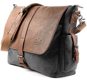 Vetelli laptop shoulder bag corner