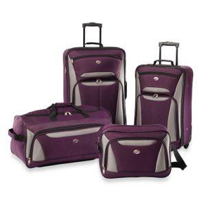 American Tourister Luggage Fieldbrook II 4 Piece Set Purple