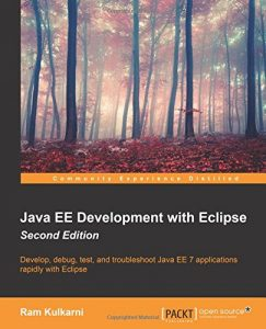 Java EE Development with Eclipse - Second Edition - Cover