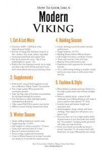 Look Like A Modern Viking 5 Step Cheat Sheet THUMB