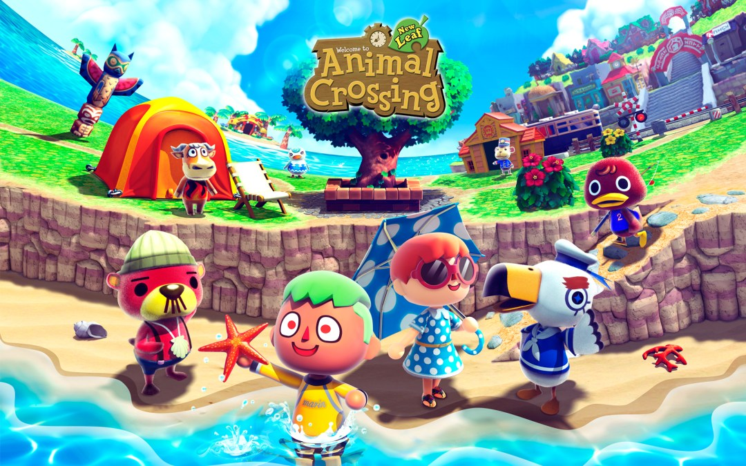 Animal Crossing beach