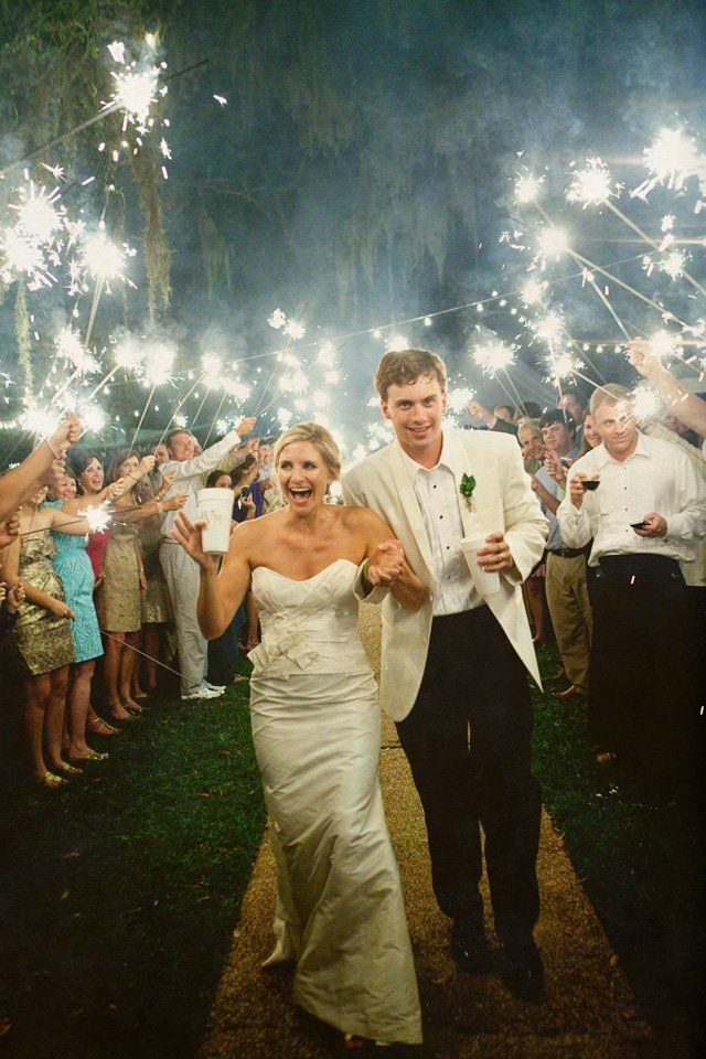 Why I Won\'t Be Doing a Sparkler Send Off - Wedding for $1000