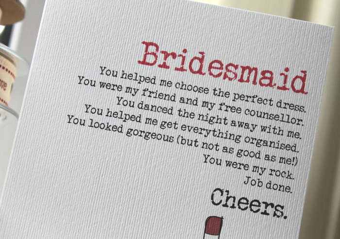 How to write a thank you letter to your bridal party wedding for thank you for bridesmaids spiritdancerdesigns Image collections