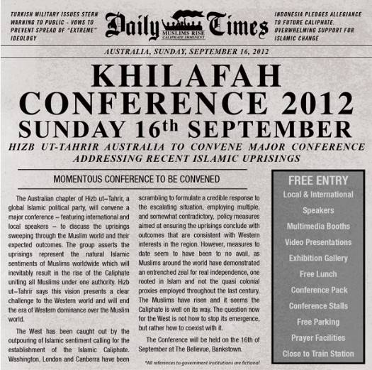 Khilafah conference in Australia