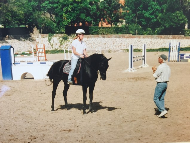 Dressage clinic with Wolfgang May.