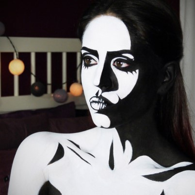 Black & White for Fright Night: 5 different black & white Costume ideas to Die for