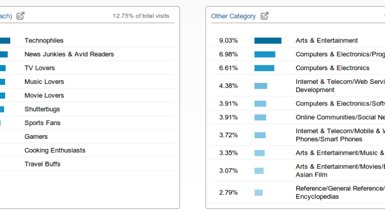5 Ways to use Audience Interests in Google Analytics