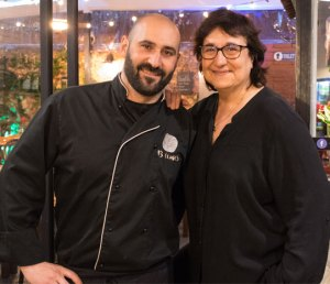 Jaume Grau i Marina Navarrete - Restaurante 13 Llunes Sitges