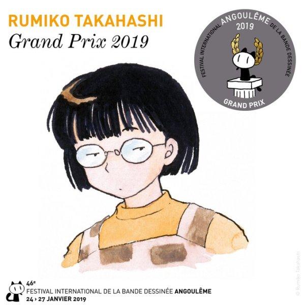Rumiko Takahashi Grand Prix de Angoulême 2019