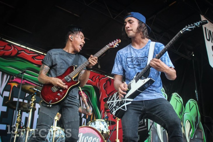 Pierce The Veil – Vans Warped Tour – 2015