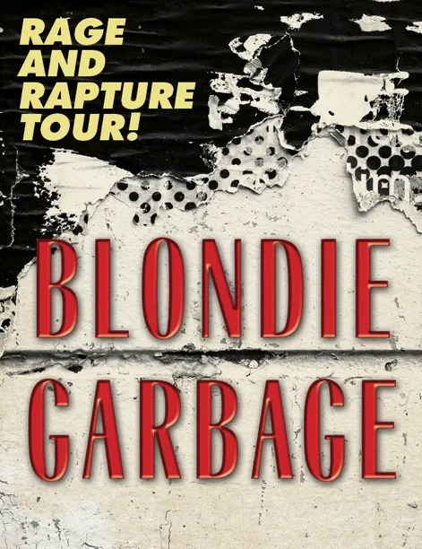Blondie and Garbage to Co-Headline Rage and Rapture Tour This Summer