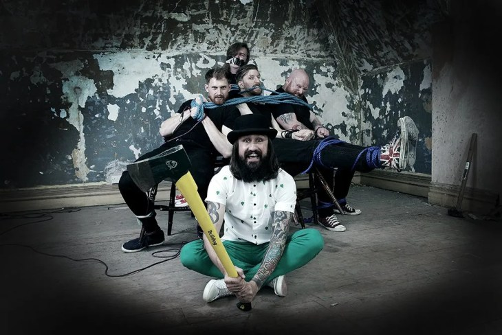 """Massive Wagons Condemn Intolerance and Racism in New Track """"Billy Balloon Head"""""""