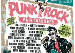 Punk Rock & Paintbrushes Holiday Art Show