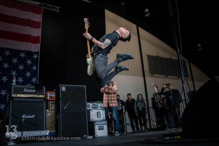Anti-Flag at Musink Tattoo Festival in Orange County