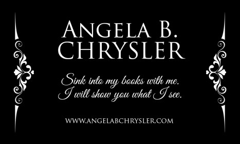 Angela B Chrysler BUSINESS CARD front
