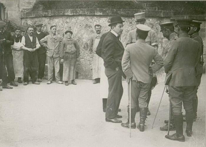 Le 22 septembre 1916 : mission japonaise
