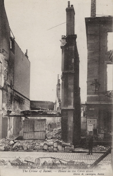 Rue de la Gabelle qui donne dans la rue Cérès