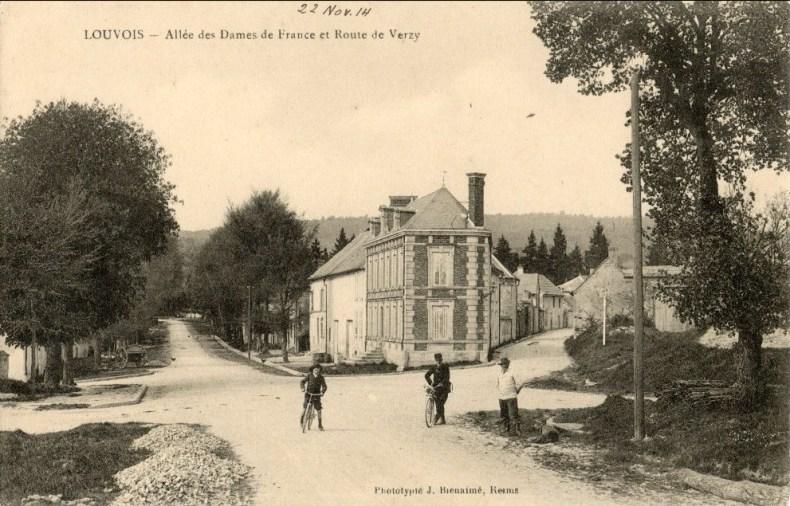 Mardi 22 juin 1915, projet de visite à Louvois