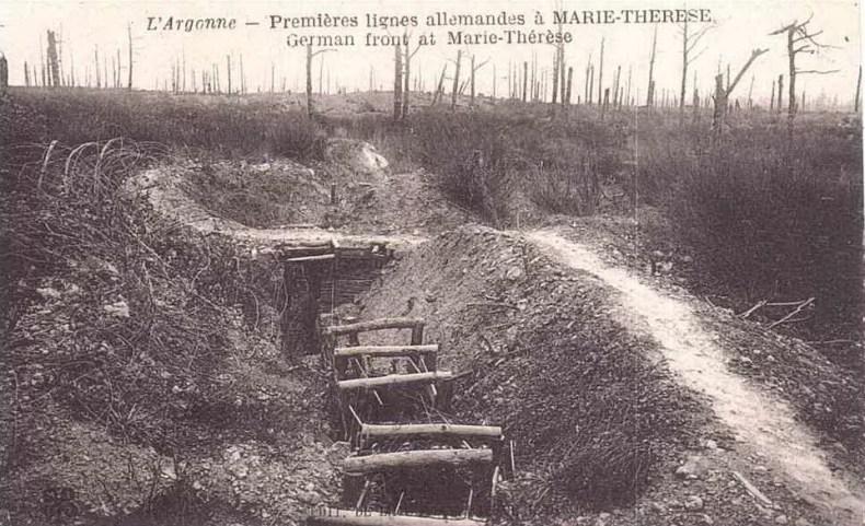 Argonne, Marie-Thérèse