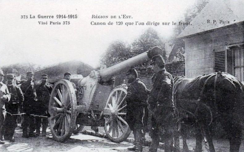 Dimanche 10 octobre 1915. Nuit tranquille en ville, sauf coups de canon plus fréquents